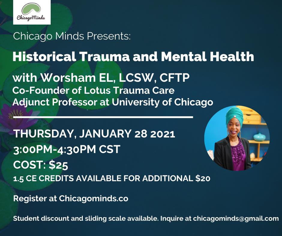 Historical Trauma and Mental Health