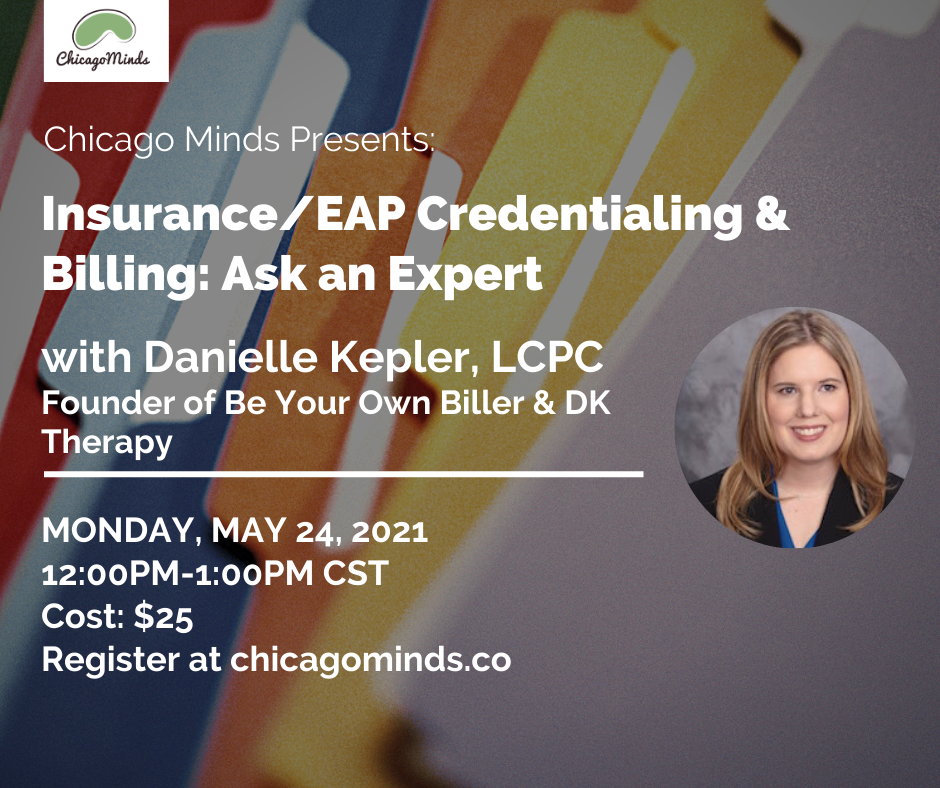 Insurance/EAP Credentialing & Billing